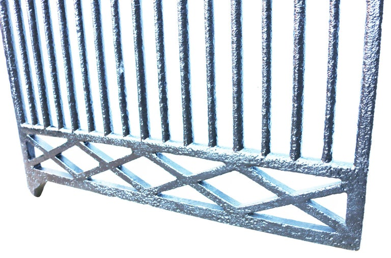 Victorian Antique Early 19th Century Cast Iron Pedestrian Gate For Sale