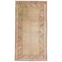 Antique East Turkestan Khotan Gallery Rug