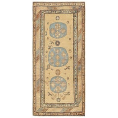 Antique East Turkestan Khotan Rug