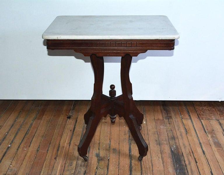 Antique Eastlake Center Table For Sale at 1stdibs