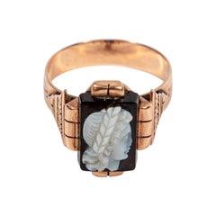 Antique Eastlake Period Cameo Ring