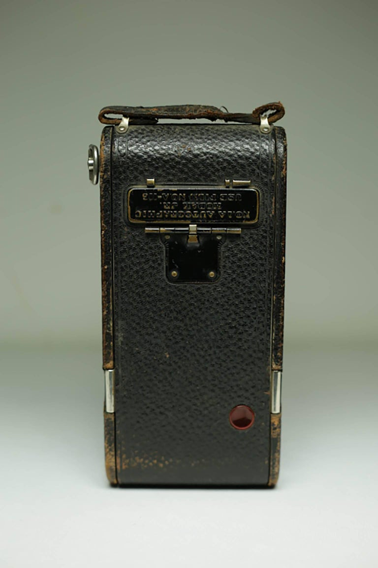 Antique Eastman Kodak Fold Out Land Camera, circa 1920s In Good Condition In San Francisco, CA