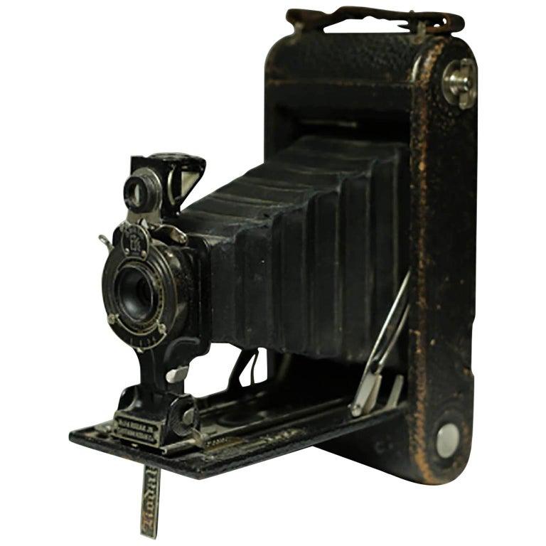 Antique Eastman Kodak Fold Out Land Camera, circa 1920s
