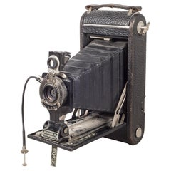 "Antique Eastman Kodak ""No. 1A Pocket Kodak"" Folding Camera, circa 1920"