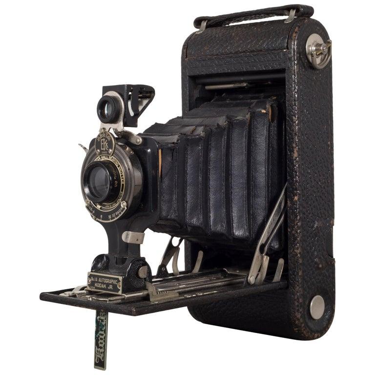 "Antique Eastman Kodak ""No. 1A Pocket Kodak"" Folding Camera, circa 1926-1932"