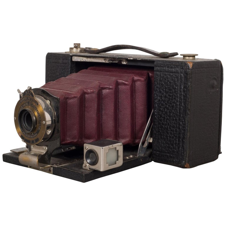 "Antique Eastman Kodak ""No. 2 Folding Pocket Brownie"" Camera, circa 1909"