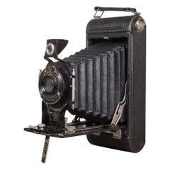 "Antique Eastman Kodak ""No. 2C Pocket Kodak"" Folding Camera, circa 1916-1927"