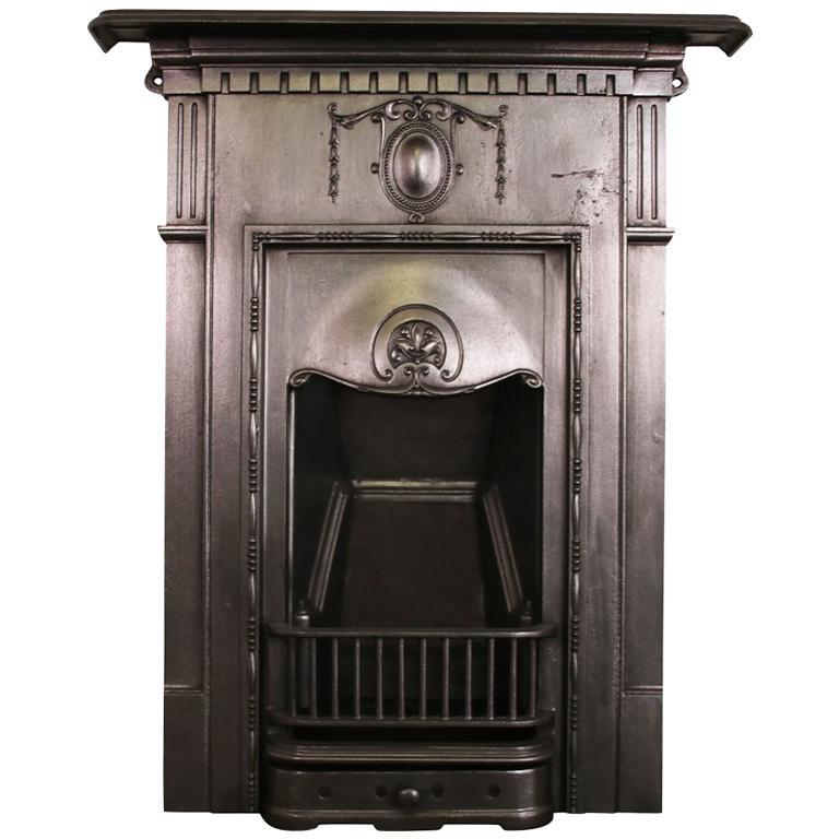 Antique Vintage Bedroom Fireplace: Antique Edwardian Cast Iron Bedroom Fireplace At 1stdibs