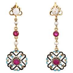 Edwardian Drop Earrings