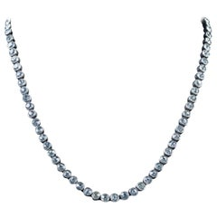 Antique Edwardian Paste Collar Necklace Silver, circa 1915
