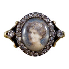 Early 1900s Cluster Rings