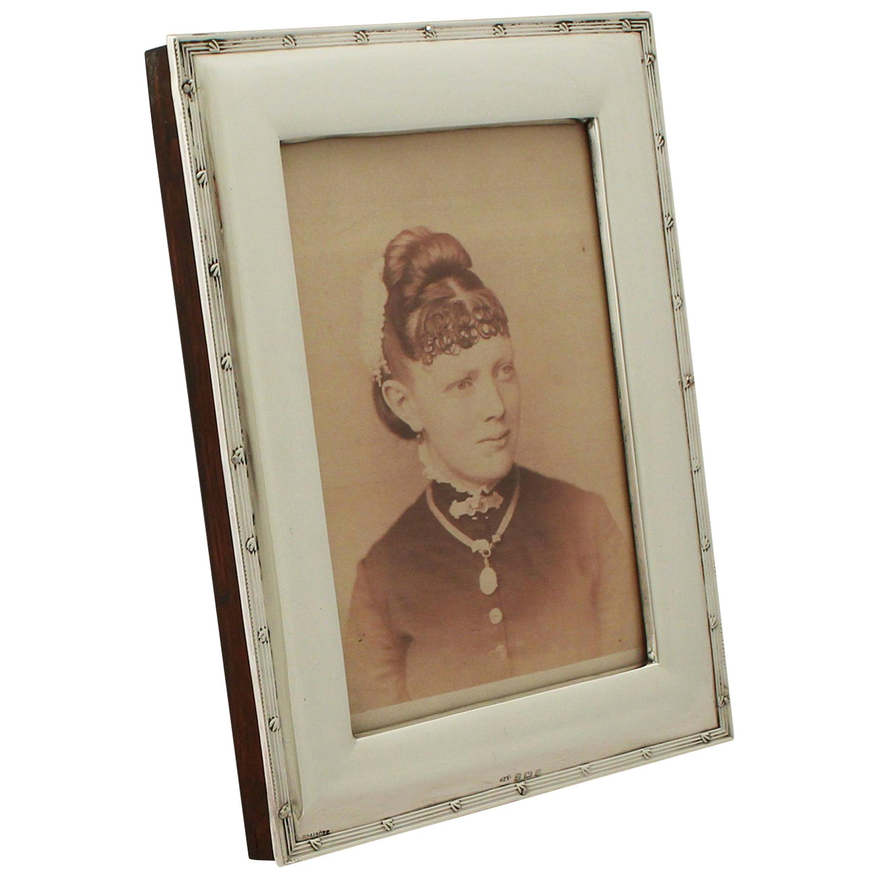 Antique Edwardian Sterling Silver Photograph Frame by Deakin & Francis