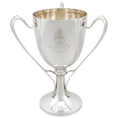Antique Edwardian Sterling Silver Presentation Cup