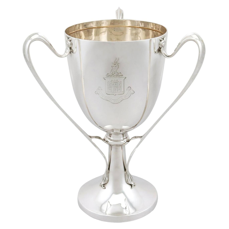 Antique Edwardian Sterling Silver Presentation Cup