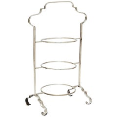 Antique Edwardian Three Tier Pastry Stand