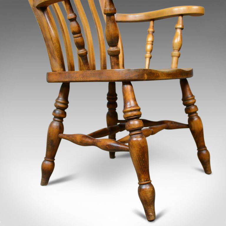 Kitchen Chairs For Sale: Antique Elbow Chair, English, Country Kitchen, Windsor