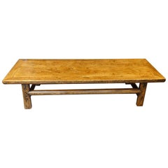 Antique Elm Coffee Table