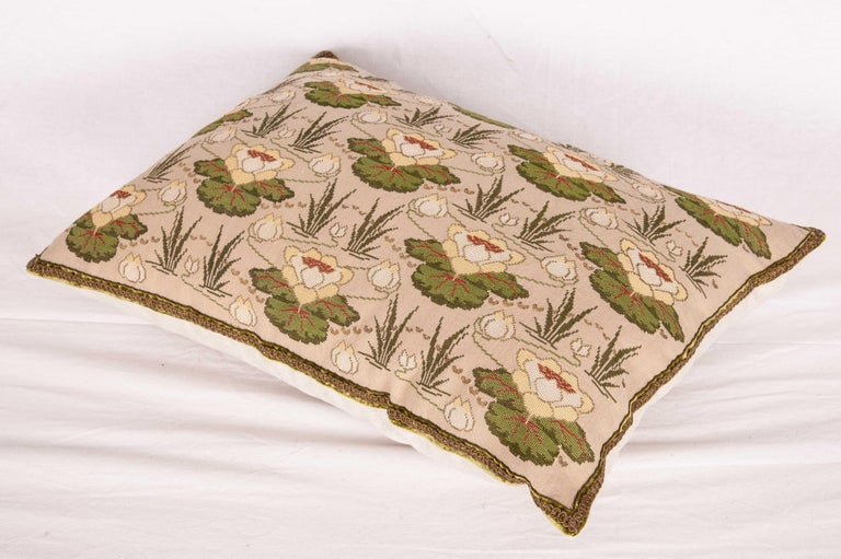 Bulgarian Antique Embroidered Pillow from Eastern Europe, Bulgaria, Early 20th Century For Sale