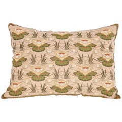 Antique Embroidered Pillow from Eastern Europe, Bulgaria, Early 20th Century