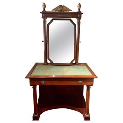 Antique Empire Dressing Table