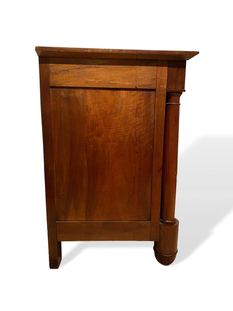 Early 19th Century Antique Empire Period Cherrywood Commode, French, circa 1820 For Sale