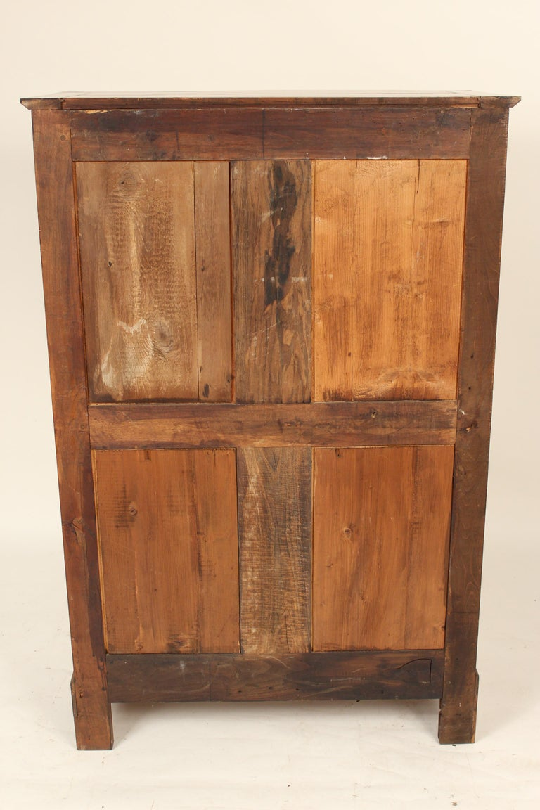 Antique Empire Style Bookcase/ Display Cabinet For Sale 5