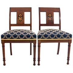 Antique Empire Style Chairs