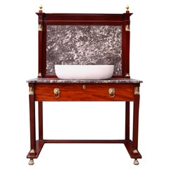 Antique Empire Style Wash Stand