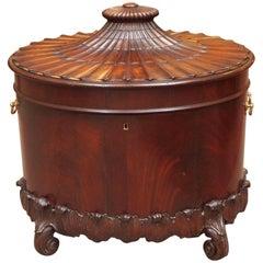 Antique English 19th Century Georgian Cellarette
