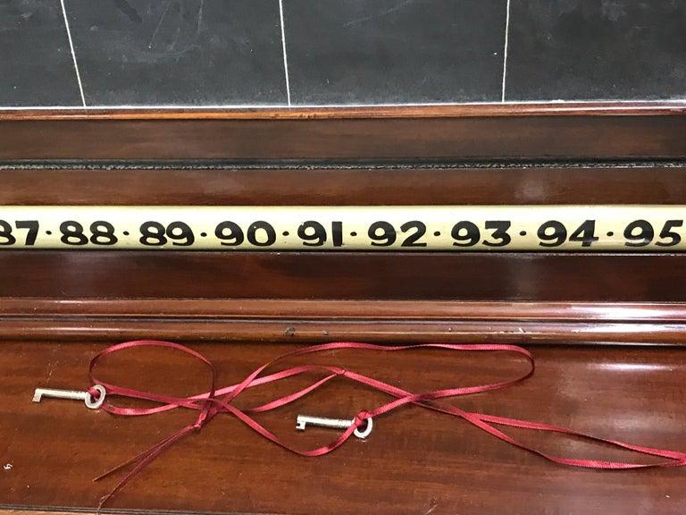 Antique English Billiards Score Board by Burroughes & Watts, London For Sale 2