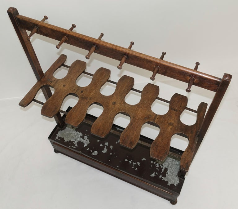 Antique English Boot Rack, circa 1820 In Good Condition For Sale In San Francisco, CA
