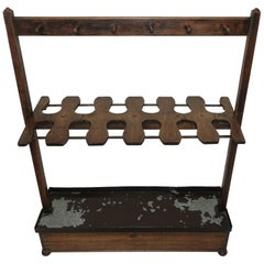 Antique English Boot Rack, circa 1820