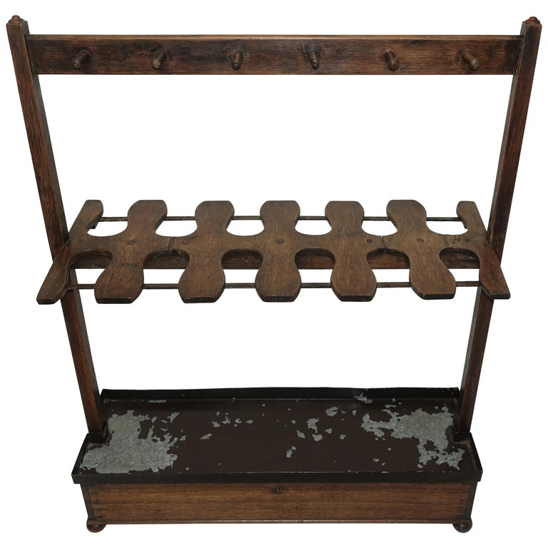 Antique English Boot Rack, circa 1820 For Sale