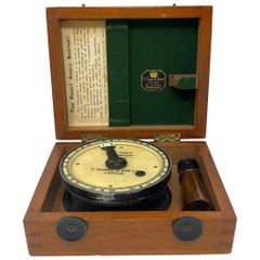 """Antique English Cased """"Paget Angle Sextant"""" by H. Hughes & Son Limited"""