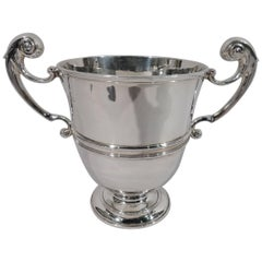 Antique English Classical Sterling Silver Urn Trophy Cup