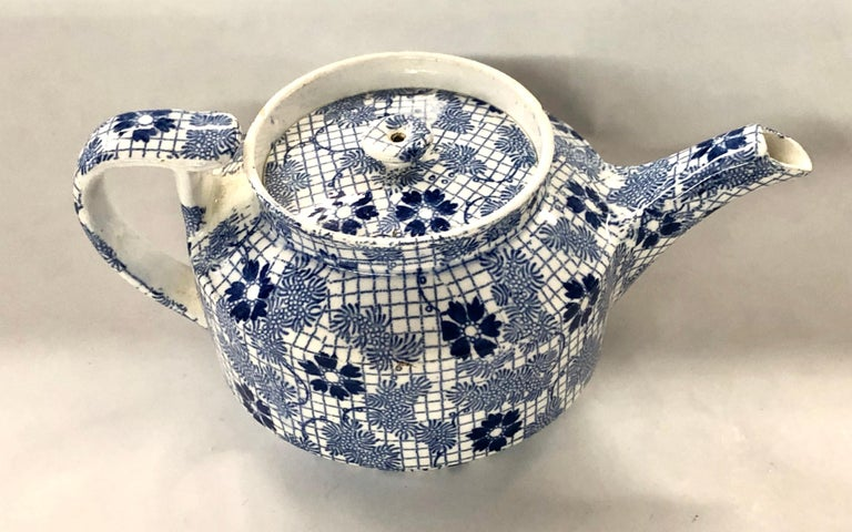 Rare antique English Copeland and Garrett (Spode) earthenware