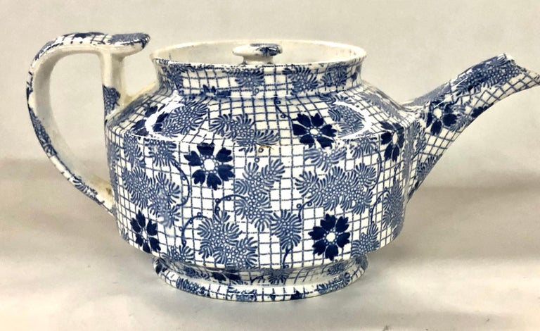 Hand-Crafted Antique English Copeland and Garrett 'Spode' Earthenware