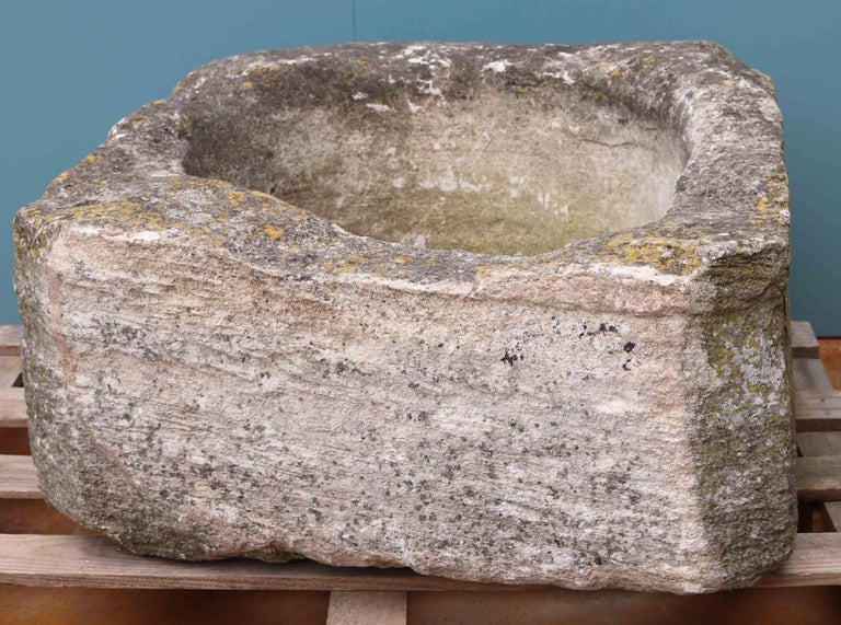 Antique English Cotswold Limestone Well Head In Fair Condition For Sale In Wormelow, Herefordshire
