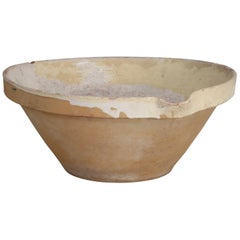 Antique English Dairy or Pancheon Bowl