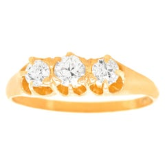 Antique English Diamond Ring