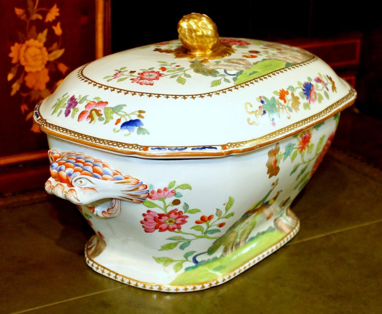 19th Century Antique English Early Spode Earthenware