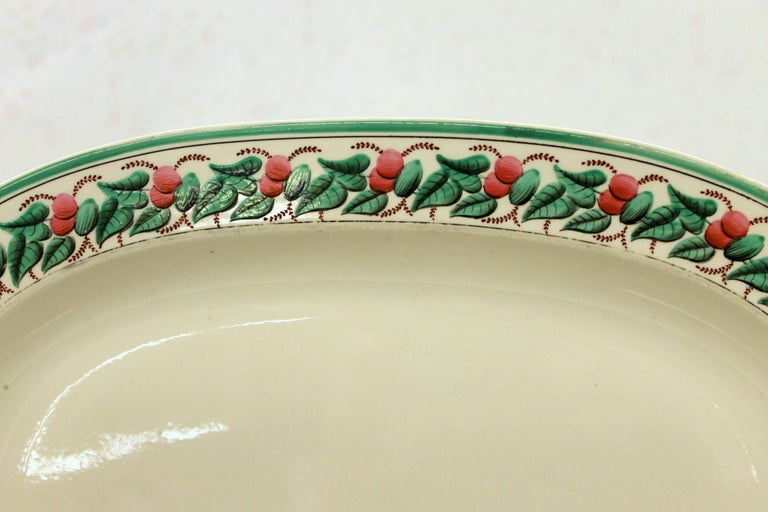 Hand-Painted Antique English Early
