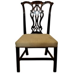 Antique English George III Mahogany Side Chair