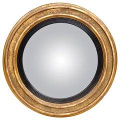 Antique English Georgian Convex Mirror, circa 1790