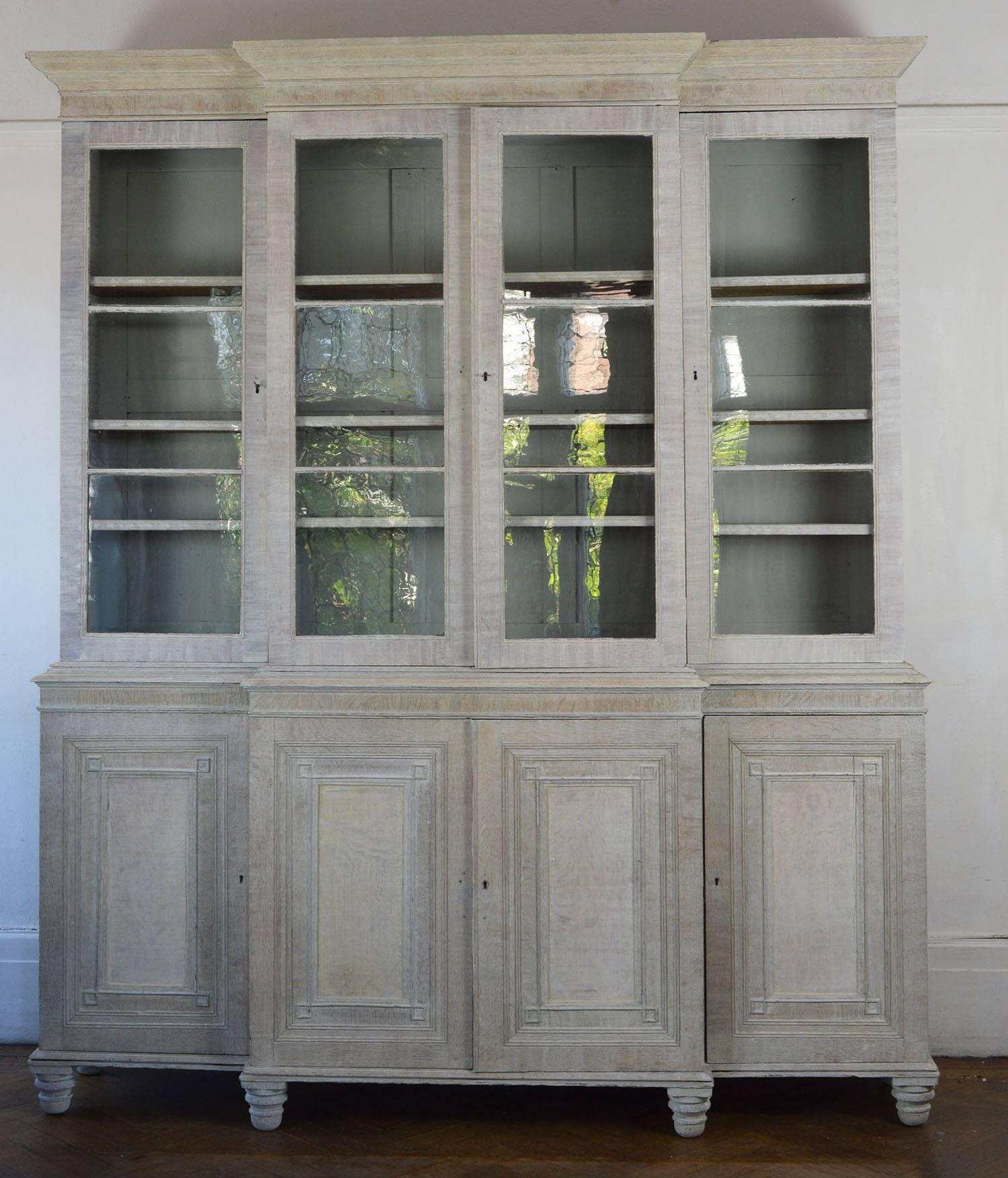 Wonderful Limed Oak Cabinet Or Bookcase. Elegant Proportions Typical Of  Georgian Furniture. Another Great