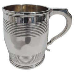 Antique English Georgian Sterling Silver Baby Cup