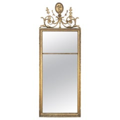 Antique English Giltwood Pier Mirror