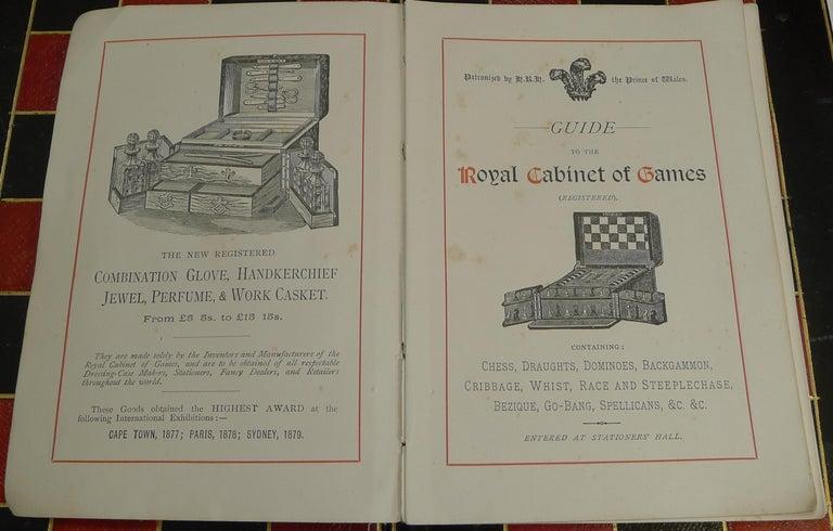 Antique English Glass Coromandel and Games Compendium / Box, circa 1880 For Sale 6