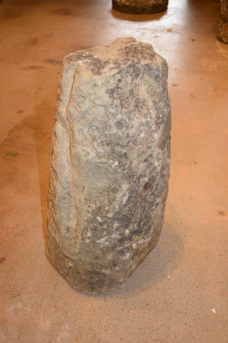 Antique English Hand Carved Staddle Stone, Early 1800s For Sale 7