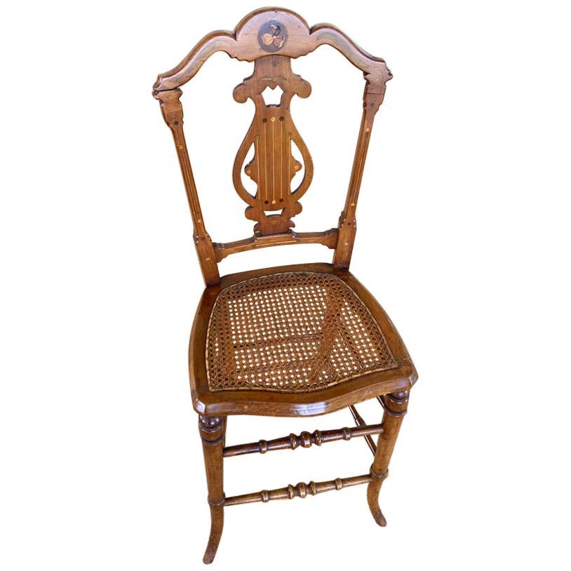 Antique English High Chair